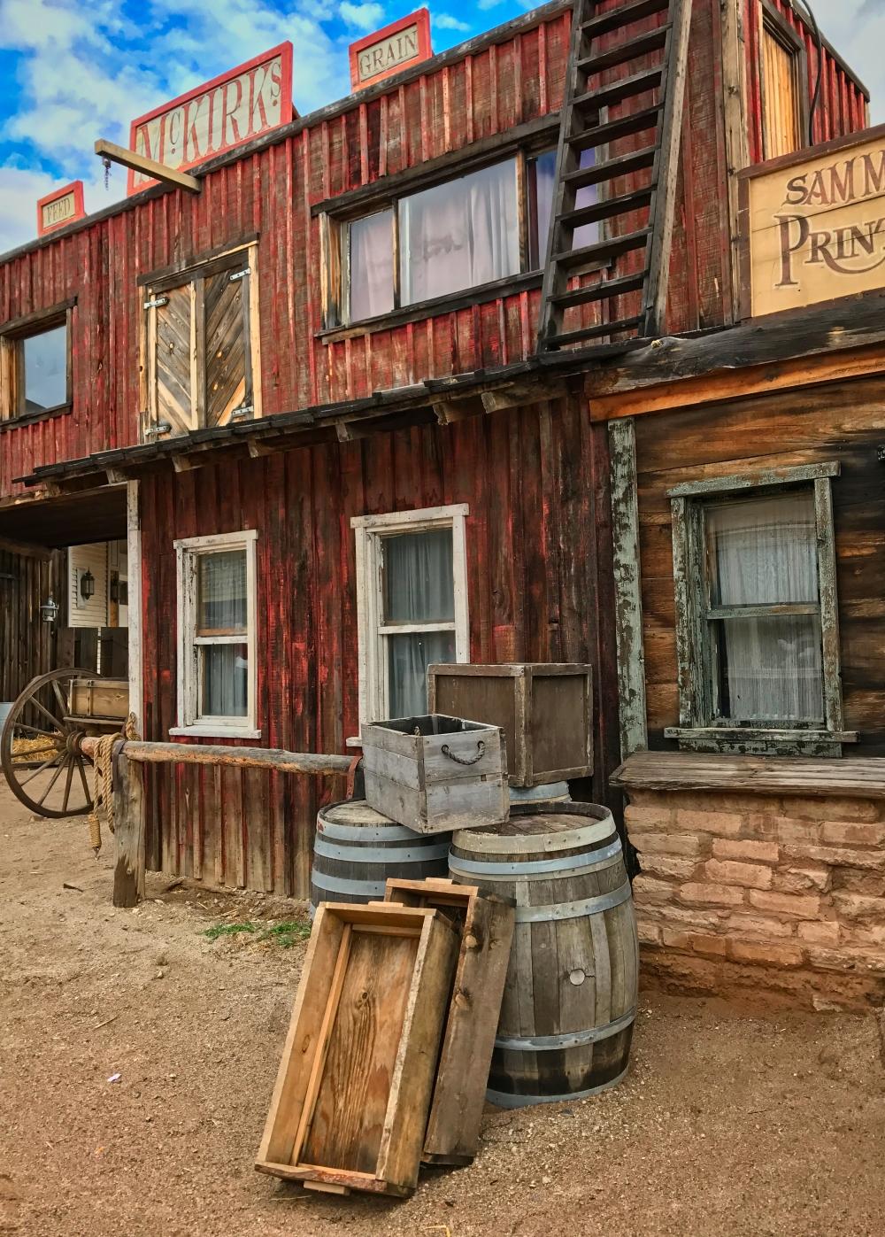 Old Tucson barrels
