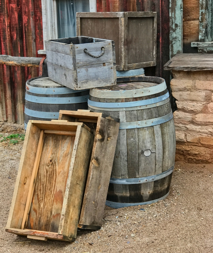 Old Tucson barrels2