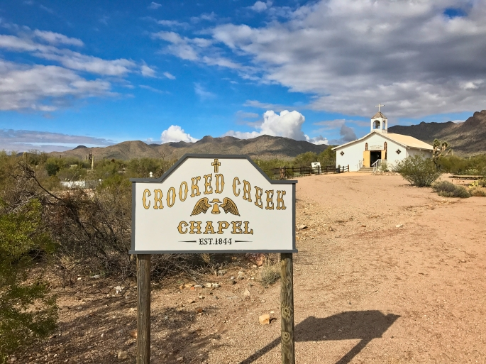 Old Tucson chapel