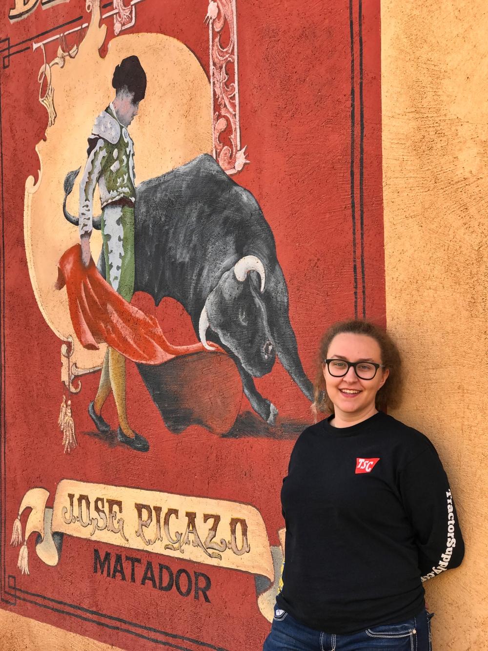 Old Tucson mural