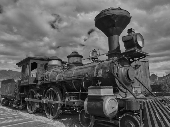 Old Tucson train