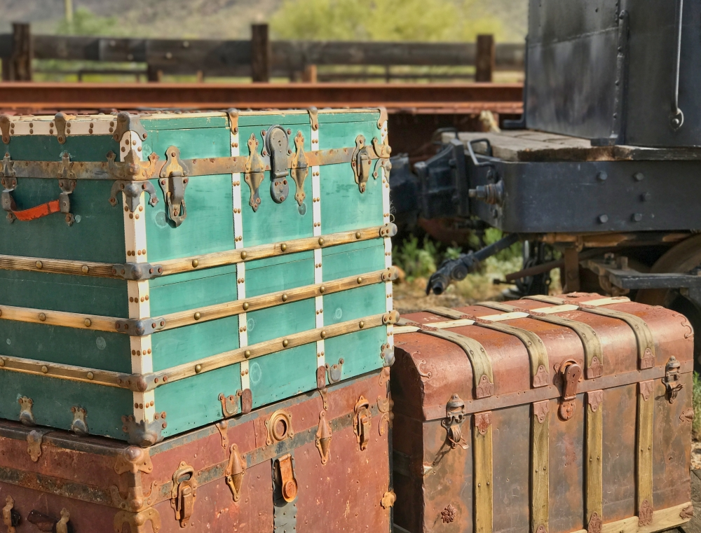 Old Tucson trunk