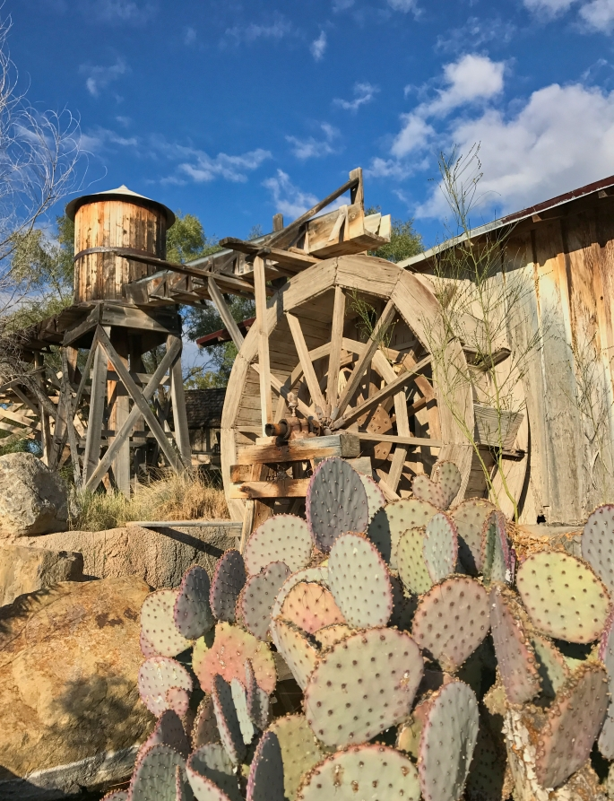 Old Tucson wheel