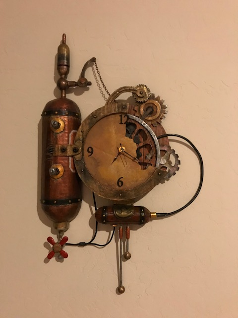 Steampunk Clock 1